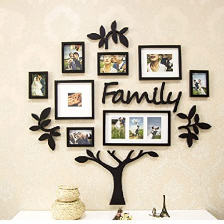 XIAOLVSHANGHANG HHNP Photo Frame Simple Tree Photo Wall Creative ...