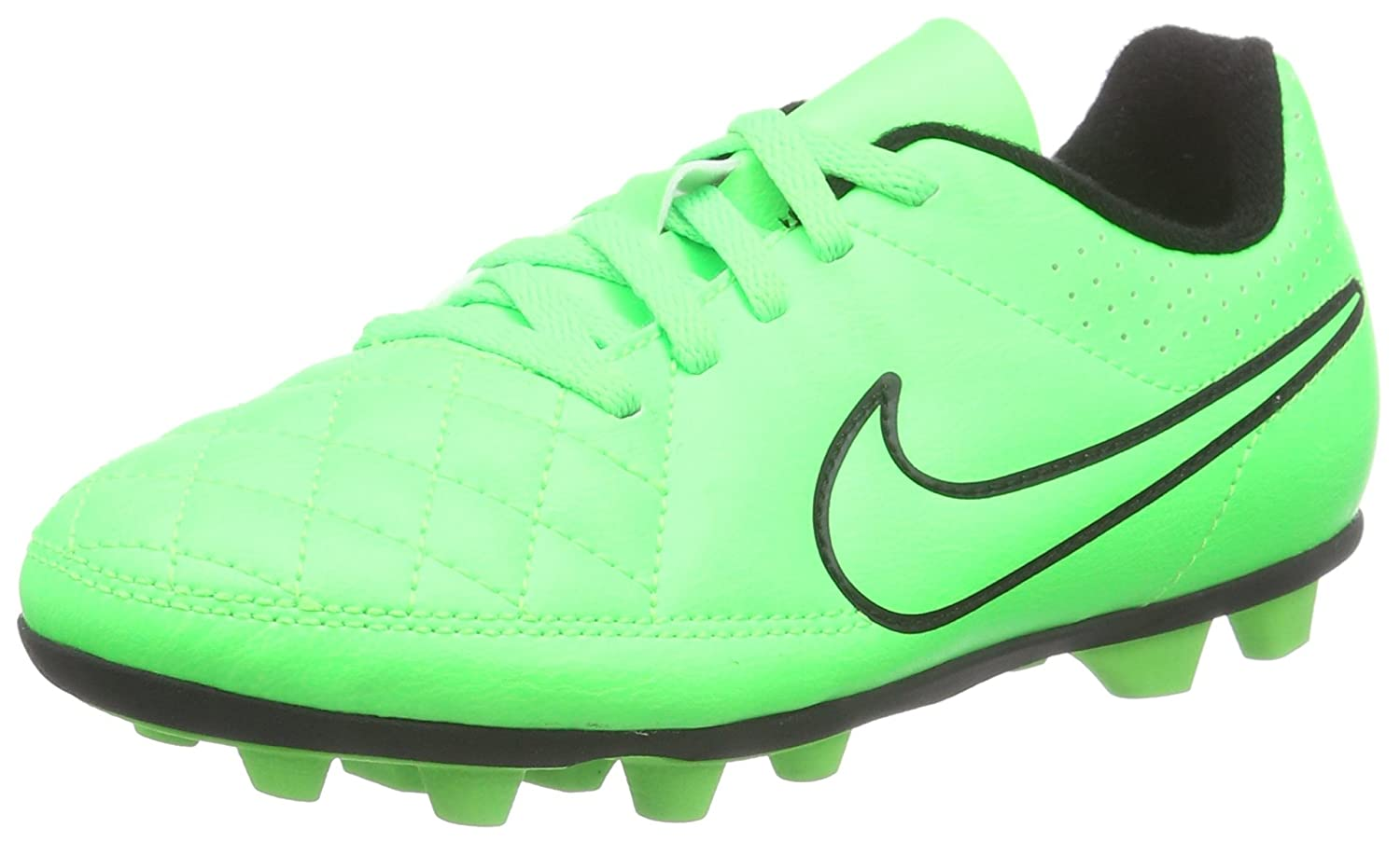 Best Sale Discounted Nike Boys' Tiempo Rio II FG-R Football Training Shoesn