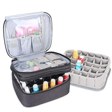 Luxja Organizador de esmaltes de uñas, esmaltes de uñas ...