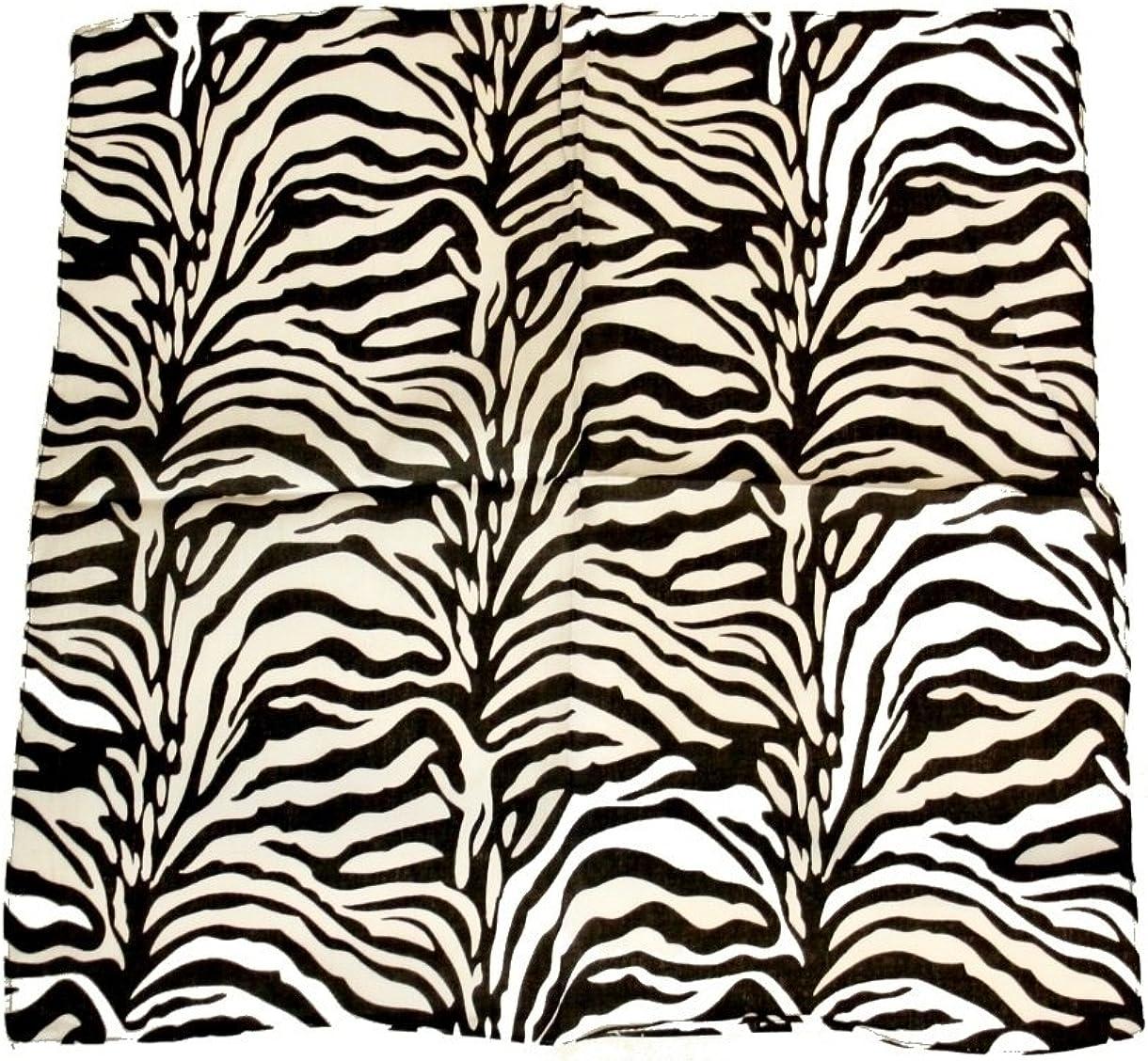 Zacs Alter Ego/® Zebra Print Bandana