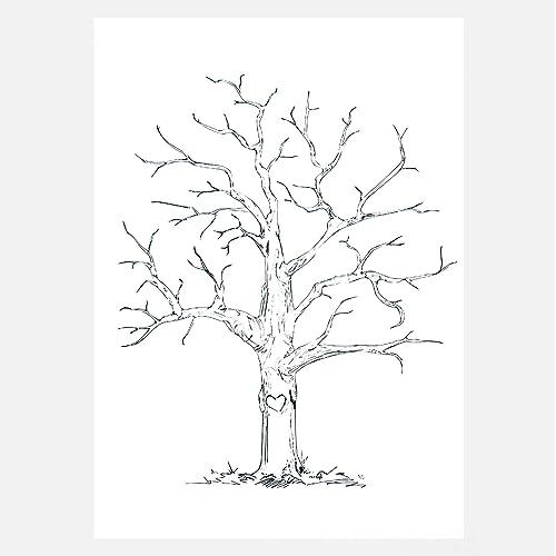 Baby Shower Fingerprint Tree Amazon