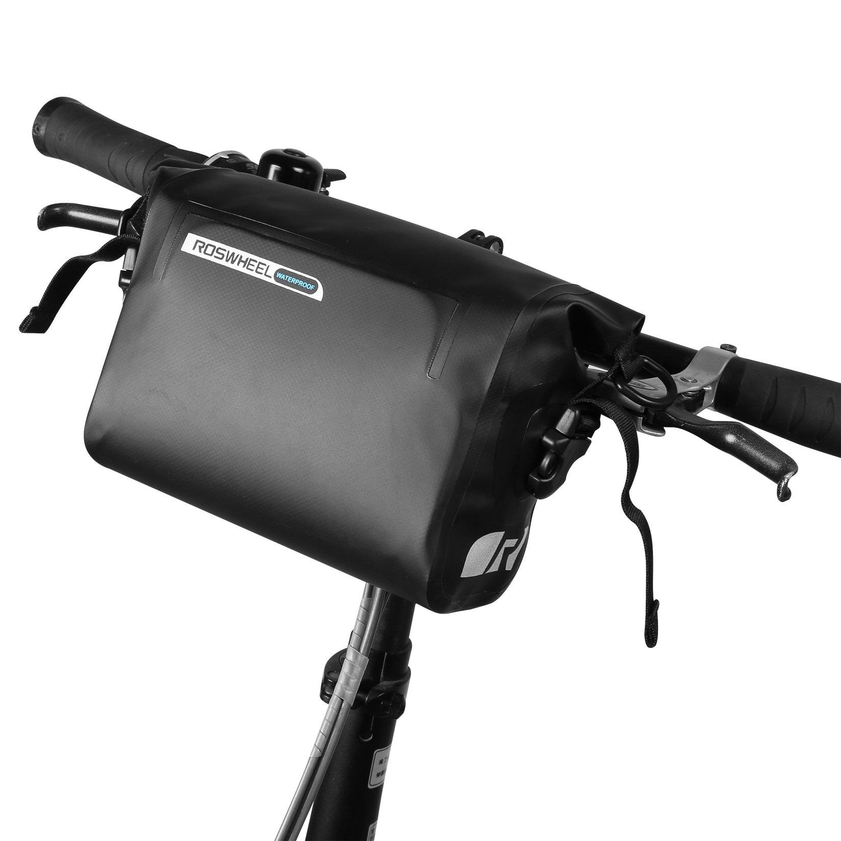 ArcEnCiel Waterproof Handlebar Bag for Bicycle