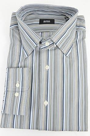 7f08d959 Image Unavailable. Image not available for. Color: Hugo Boss Black Label  Men's Jonny Point Collar Dress Shirt ...