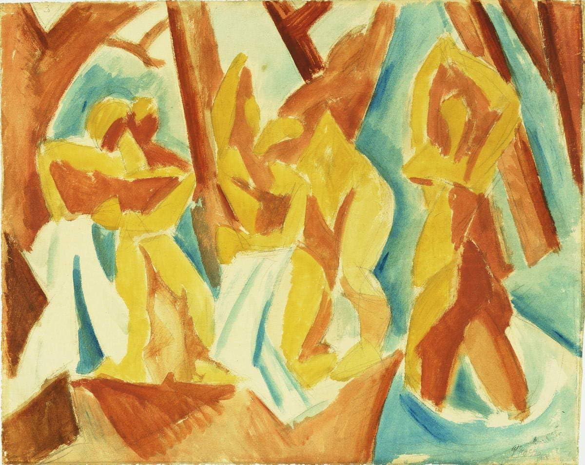 Berkin Arts Pablo Picasso Giclee Lienzo Impresión Pintura póster ...