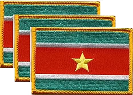 Suriname Patch Iron on