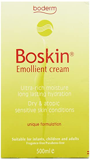 Amazon.com: boskin 500 ml Emoliente Crema: Health & Personal ...