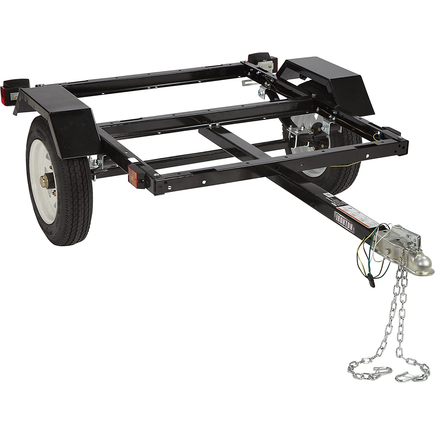 Ironton Utility Trailer Kit With 40in X 48in Bed Harbor Freight Folding Build Part 2 Wheels And Wiring 1060 Lb Capacity Automotive