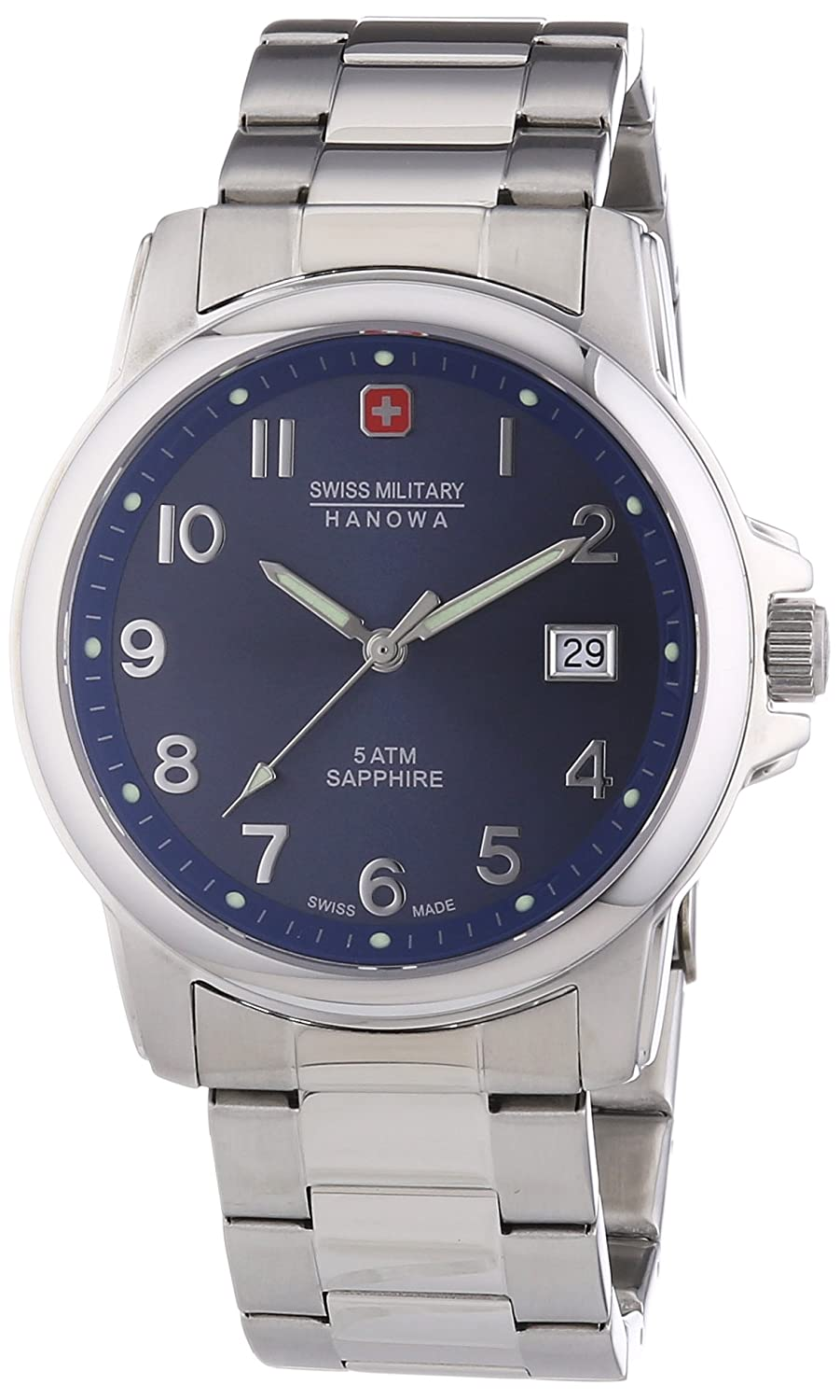 Swiss Military Hanowa Herren-Armbanduhr Analog Quarz 06-5231.04.003