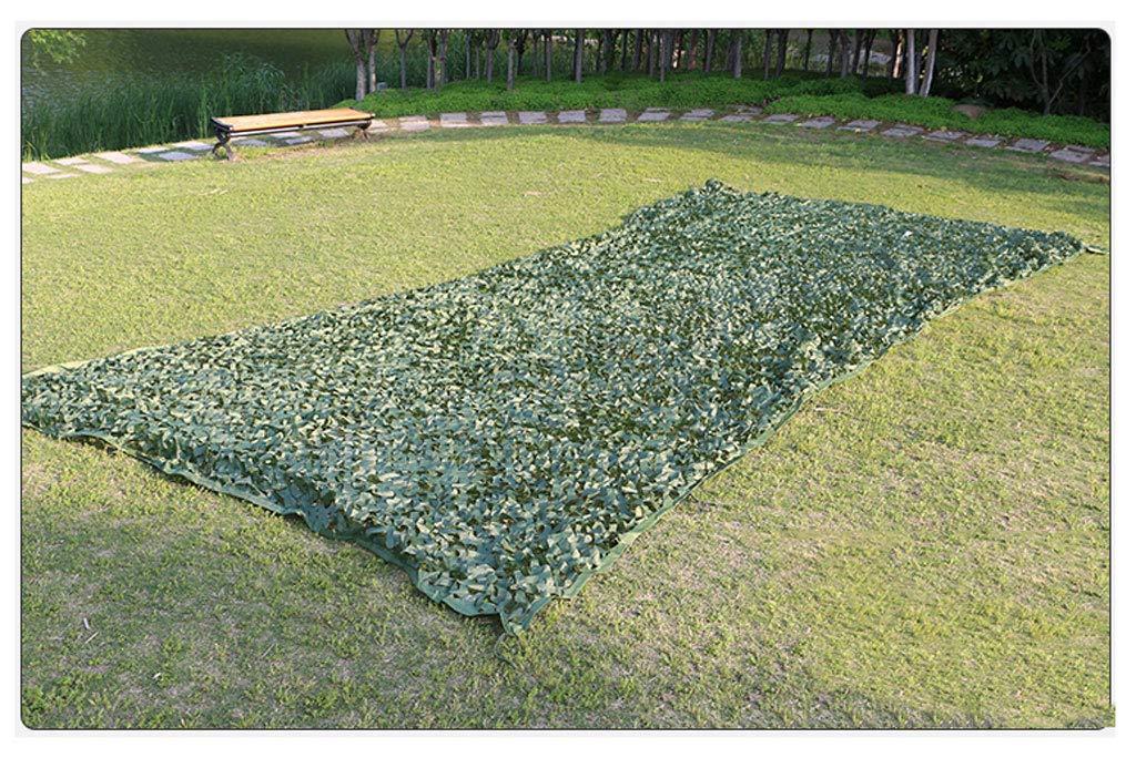 迷彩ネットシェードネット カモフラージュネット、オックスフォード布は高密度で丈夫で屋外キャンプに適していますサンシェードとガーデン装飾 純粋な緑 2x3mマルチサイズオプション (サイズ さいず : 6*6M) 6*6M  B07QJYT4M6