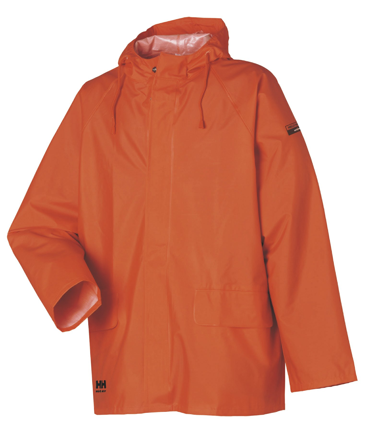 Helly Hansen Workwear Men's Mandal Rain Jacket, Dark Orange, X-Large by Helly Hansen