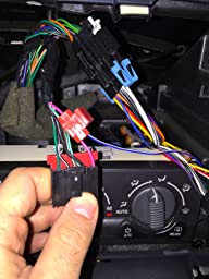 amazon com customer reviews metra 70 1858 radio wiring harness wiring harness that had been previously hooked to the back of the factory deck this sends a signal to the truck s amp to turn on and power the door