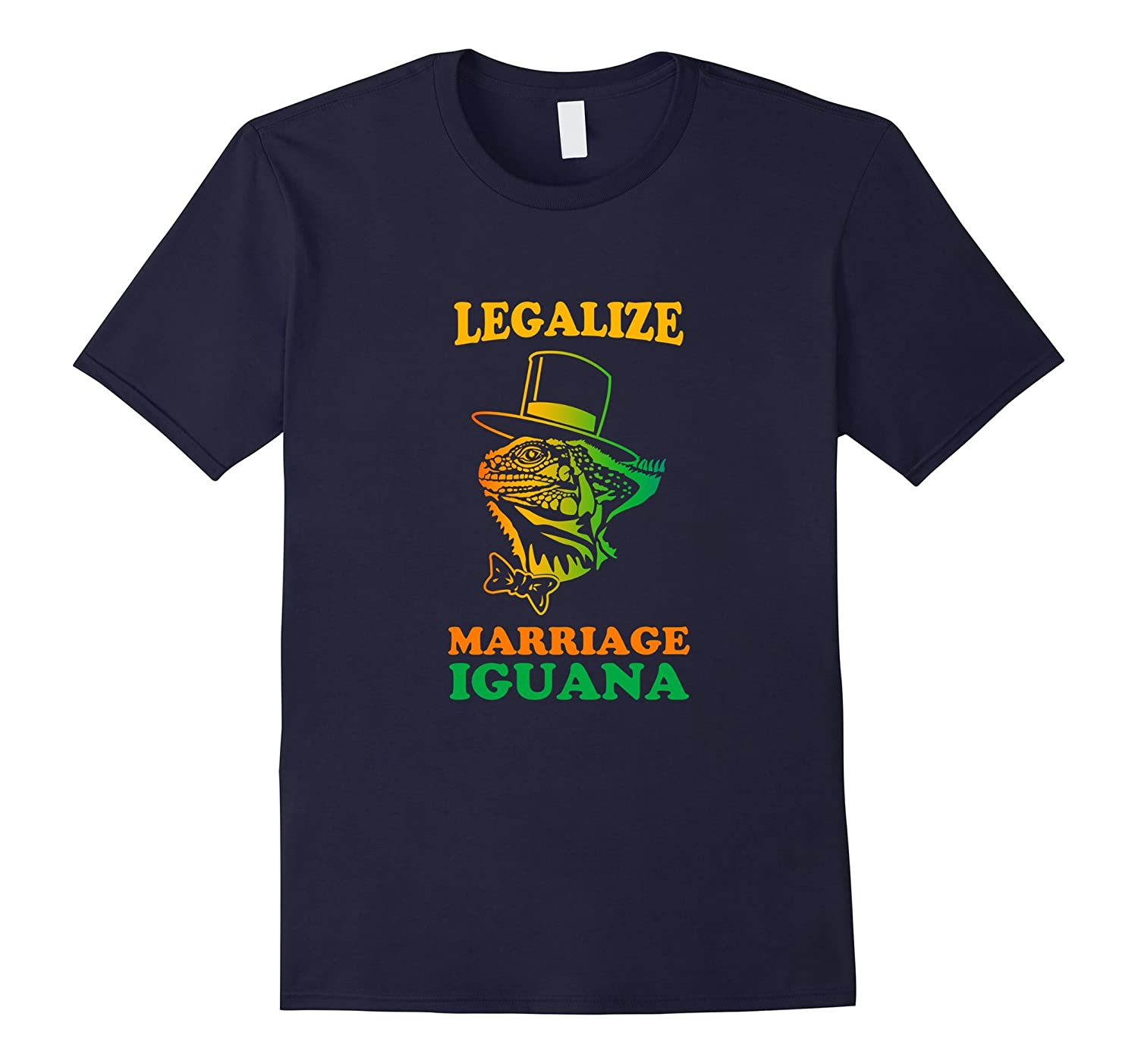 Legalize shirt Marriage Iguana reptile enthusiasts Iguanas-CD