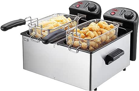 Amazon.com: NEW Delki DK-202 Electric Deep Fryer 2 Baskets