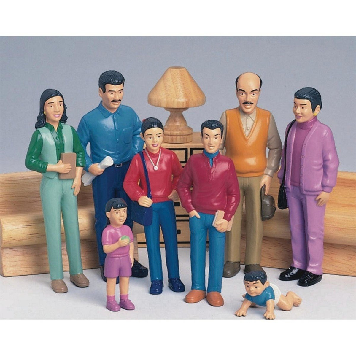 Amazon Marvel Education 136 Pretend Play Hispanic Family Set Of 8 Figures Industrial Scientific