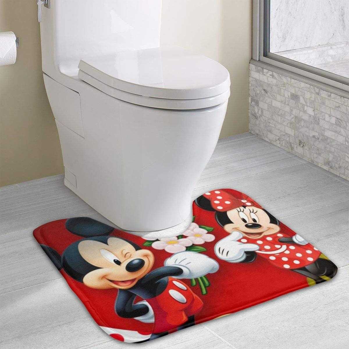 DZNLHM Mickey Mouse Minnie Love Couple Heart U-förmige Anti-Rutsch