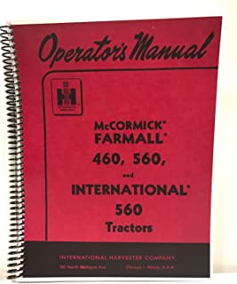 international harvester shop manual series 460 560 606 660 2606 i rh amazon com Diesel Tractor Wiring Diagram International 4700 Wiring Diagram