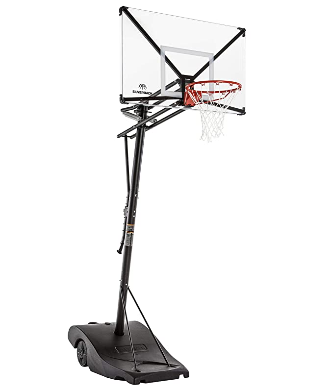 1. Silverback NXT Portable Height-Adjustable Basketball Hoop