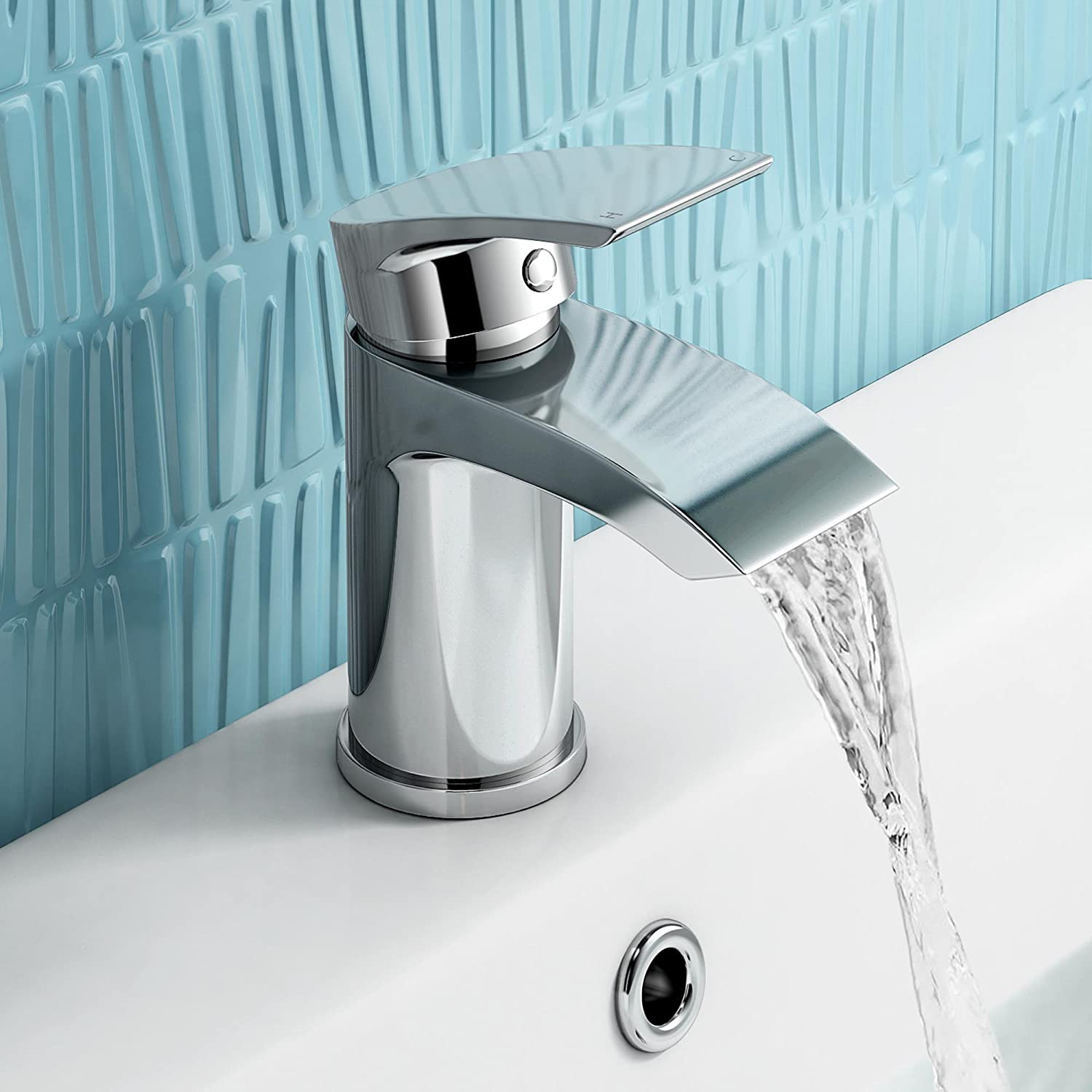 iBathUK | Cloakroom Basin Sink Mixer Tap + Bath Filler Bathroom ...