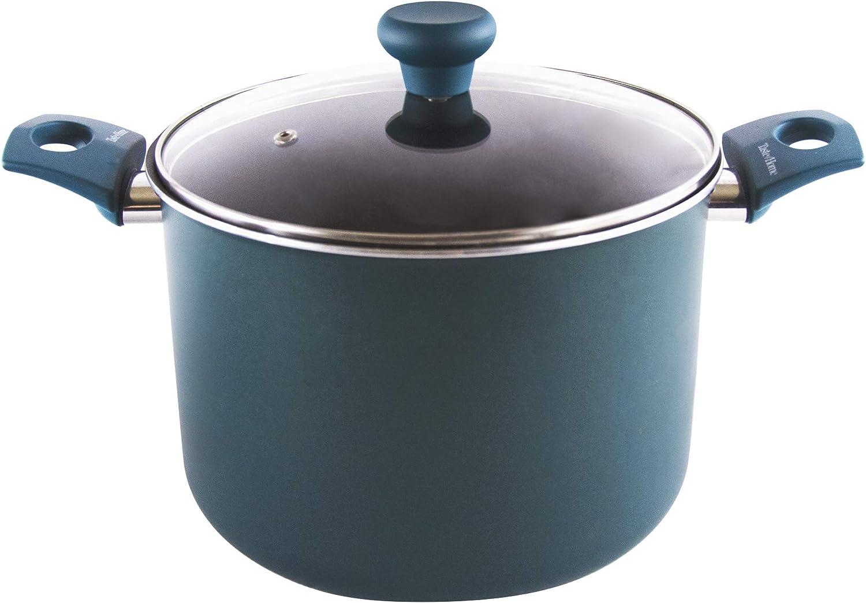 Taste of Home 8-Quart Non-Stick Aluminum Stock Pot with Lid