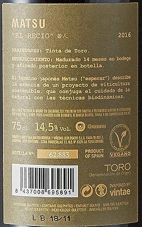 Matsu Vino El Recio Caza de 14º - 75 cl