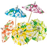"Petits parasols à cocktail ""Hawaï"" 24 pcs"