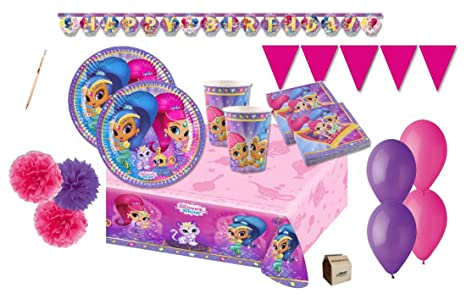 Irpot Kit N 55 Shimmer 6 Shine Coordinato Tavola Compleanno Party