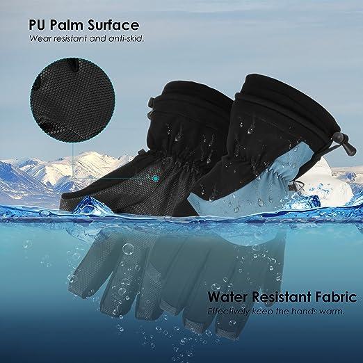 3ab7b54077 Amazon.com   OMORC Ski Gloves