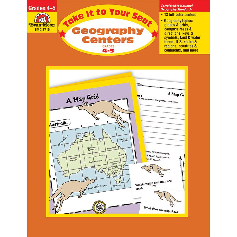 Amazon geography centers grades 4 5 9781557999986 evan amazon geography centers grades 4 5 9781557999986 evan moor books biocorpaavc Choice Image