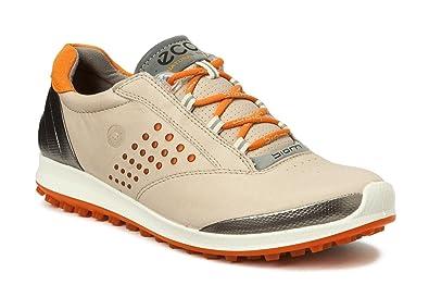 35ae532e1 ECCO Biom Hybrid 2 Oyester Naranja Zapatos de Golf Mujer-41 EU  Amazon.es   Zapatos y complementos