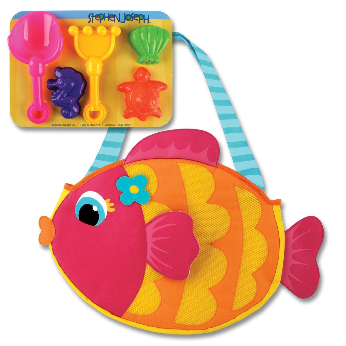 Amazon.com: Stephen Joseph Beach Tote, Fish: Aldo Nova: Toys & Games