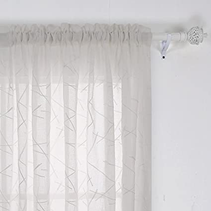 design chic linen romantic curtain natural well sheer suited curtains