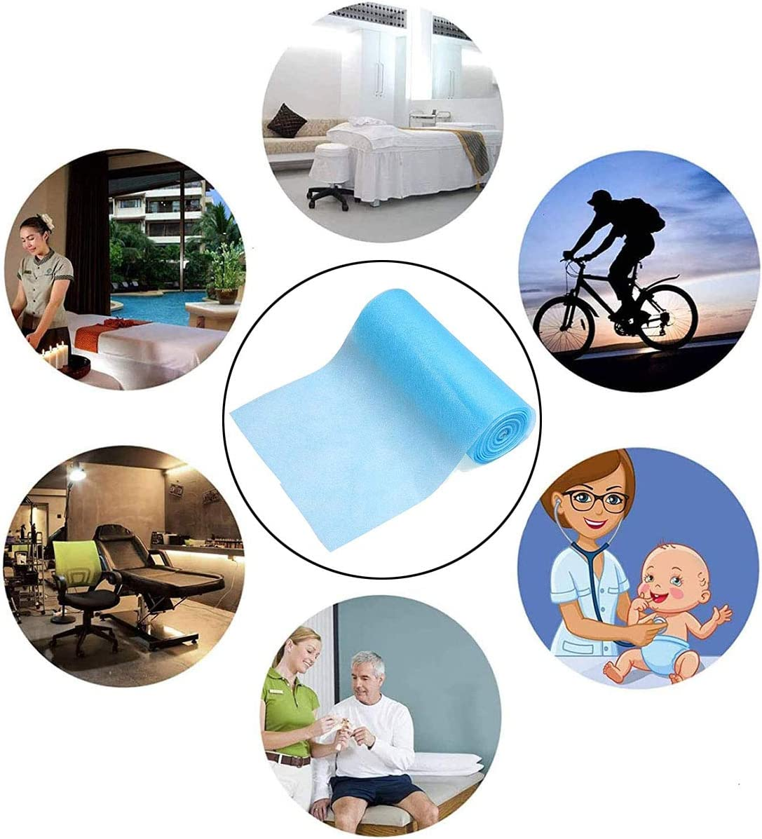 Disposable Waterproof Non-Woven Fabric Cloth,95/% Polypropylene Fabric,DIY Handmade Material,Waterproof and Breathable Skin-Friendly and Soft 10M