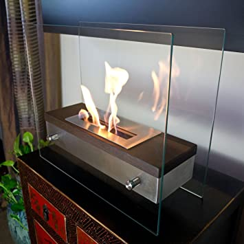 Amazoncom Nu Flame Ardore Foreste Tabletop Fireplace Nu Flame