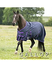 Gallop Trojan Chemise de pluie ultra léger Bleu marine/violet