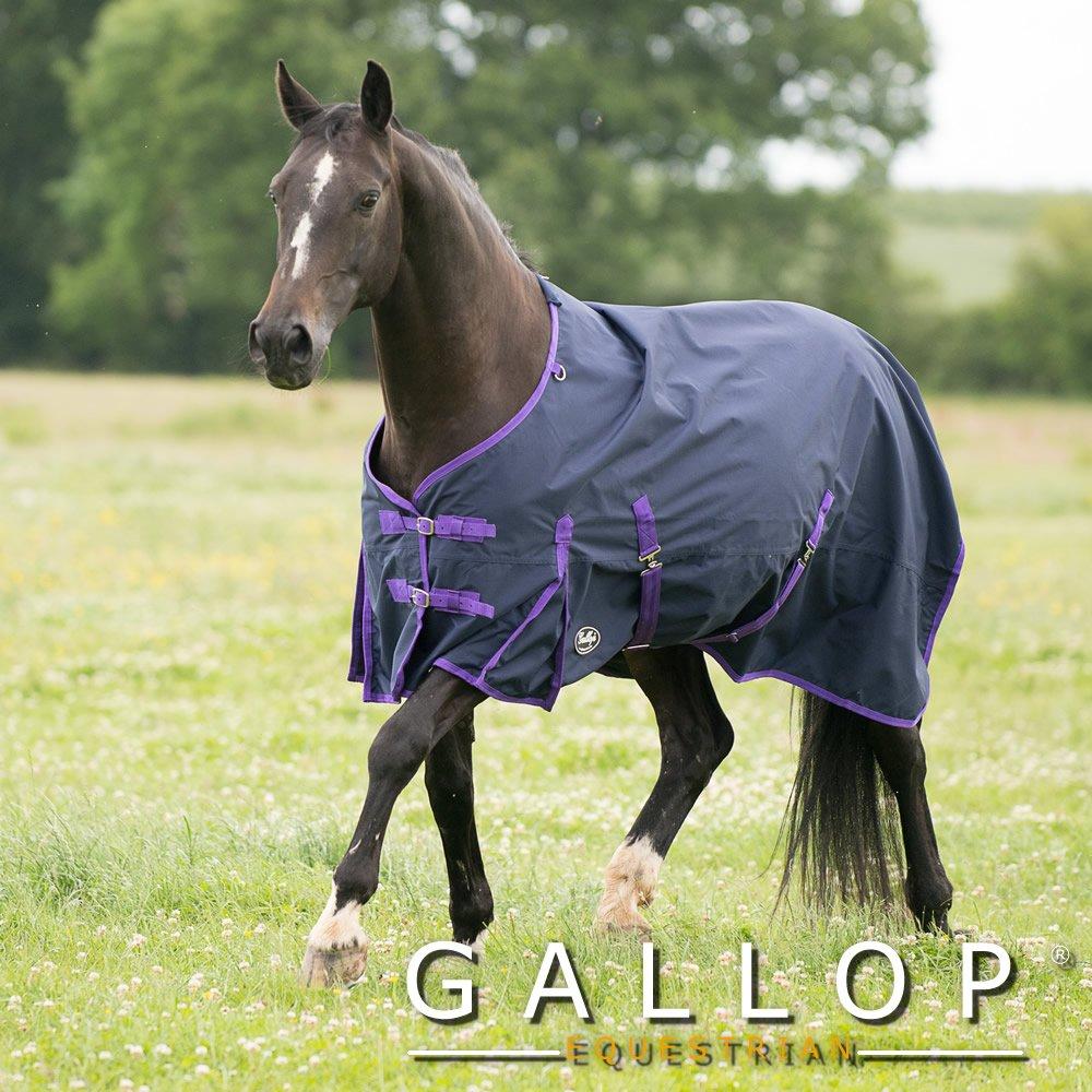Gallop Chemise de pluie, Bleu - Bleu, 5ft3 5ft3 Gallop Equestrian