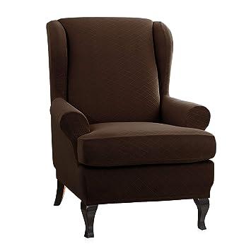 Amazon.com: CHUN YI - Funda para silla de 2 piezas, diseño ...