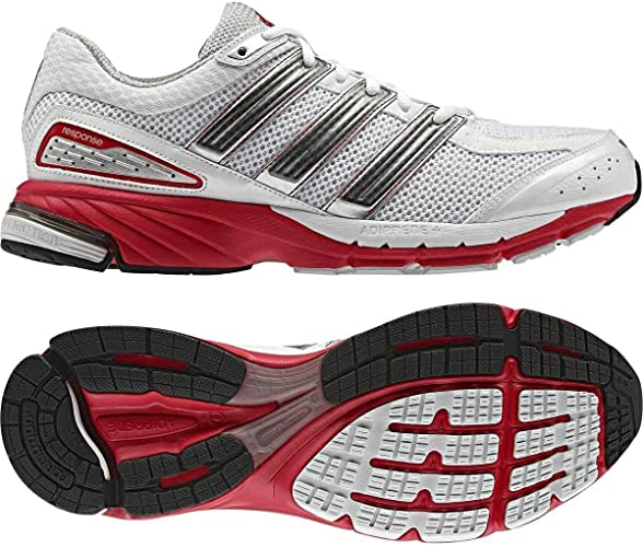 rodar Cíclope Oriental  Adidas Response Cushion 21 mi coach compatible trainers white/red (13.5):  Amazon.co.uk: Shoes & Bags