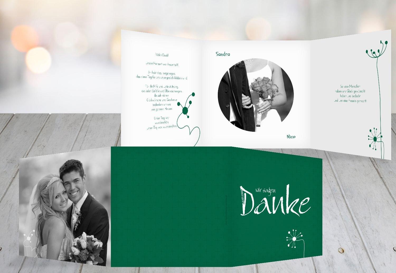 Kartenparadies Danksagung für Hochzeitsgeschenke Hochzeit Dankeskarte abstrakte Blaumen, hochwertige Danksagungskarte Hochzeitsglückwünsche inklusive Umschläge   20 Karten - (Format  145x145 mm) Farbe  Sonnengelb B01MZC71NF | Genial