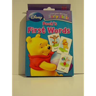Disney I Can Learn with Pooh Early Skills Pooh's First Words Flash Cards: Toys & Games