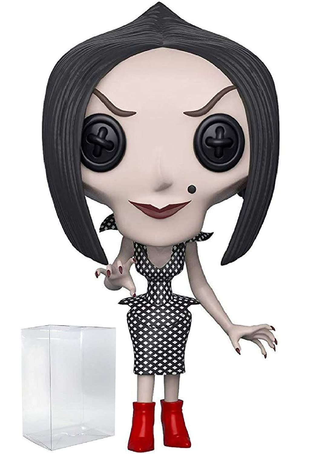 Includes Pop Box Protector Case Funko Pop Movies: Coraline The Other Mother Vinyl Figure