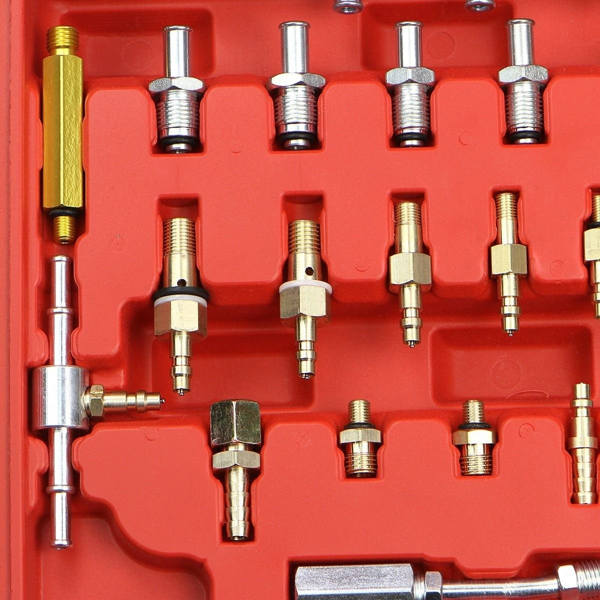 PMD Products Manometer Fuel Injection Pressure Tester Gauge Kit System w/Schrader Valve Fittings 0-140 psi by PMD Products (Image #6)