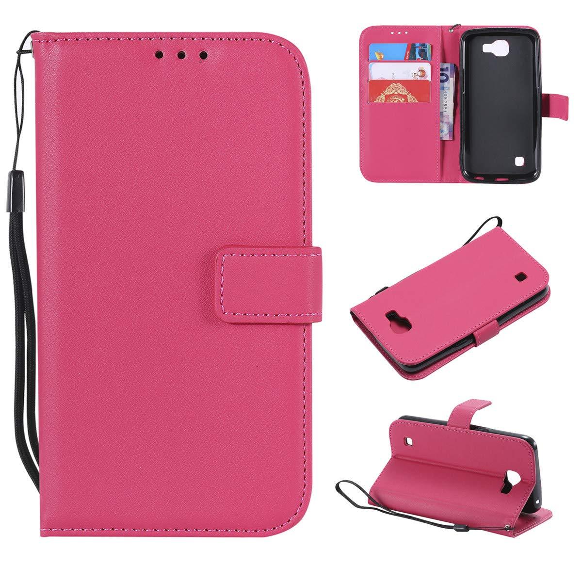 premium selection 98260 5dba9 Amazon.com: LG K3 (3G) Case,Gift_Source Slim Wallet Flip Protective ...