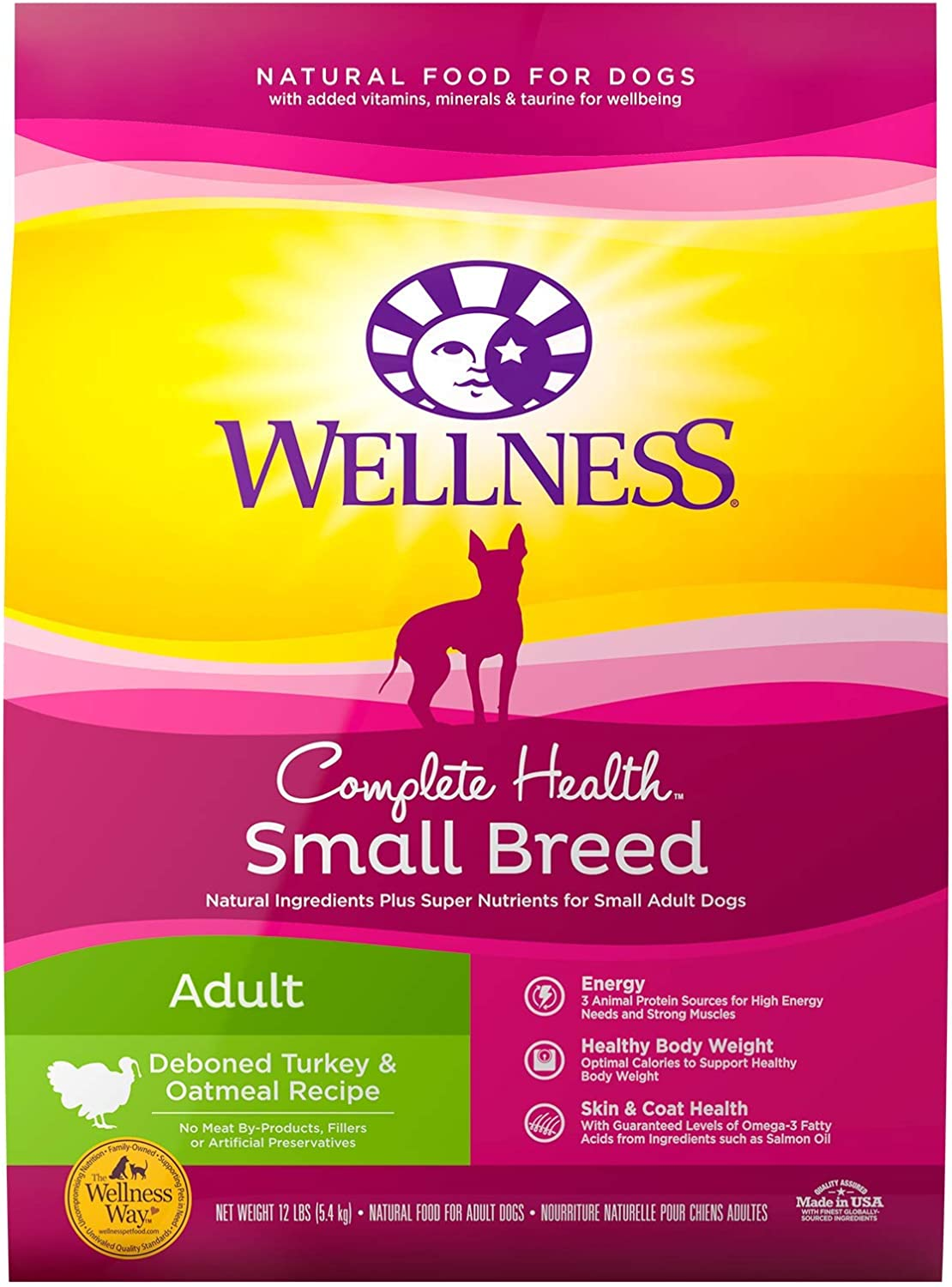4. Wellness Small Breed Complete Health