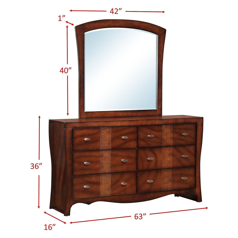 Amazon.com: Elements Clifton cambiador y espejo: Kitchen ...