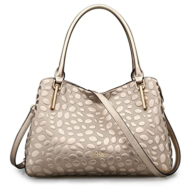 25f5aee4a3a4 Amazon.com: ZOOLER Leather Handbags for Women Crossbody Bags Large ...