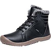 L-RUN Womens Winter Boots Waterproof Fur Snow Boots Ankle Booties for Women