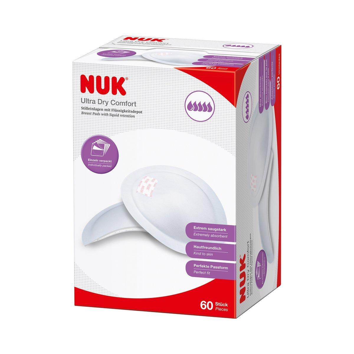60er-Pack Einweg-Stilleinlagen Ultra Dry Comfort NUK