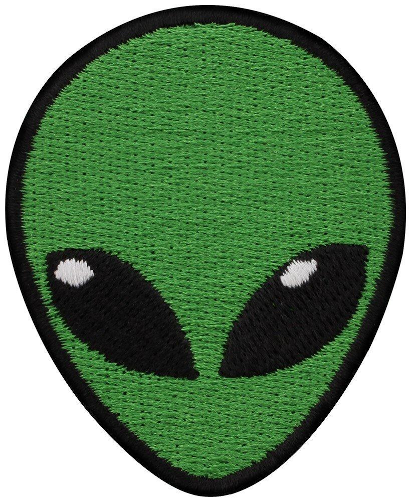 Grindstore Targhetta vivigade toppa Alien Head 5 x 6 cm