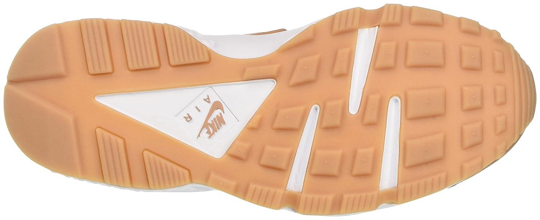NIKE Damen Beige Air Huarache Run Laufschuhe Beige Damen (Dusted Clay/Weiß/Gum Yellow) 17b3ab