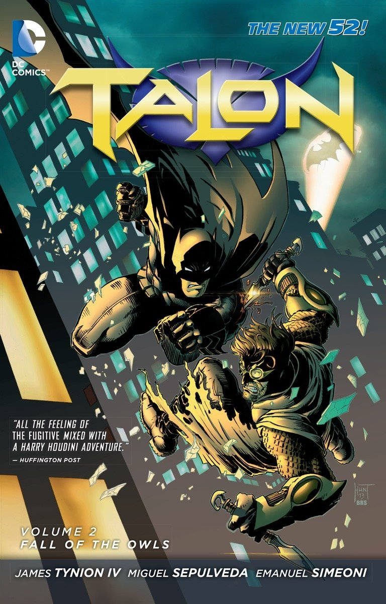 Talon Vol. 2: Fall of the Owls (The New 52) by DC Comics